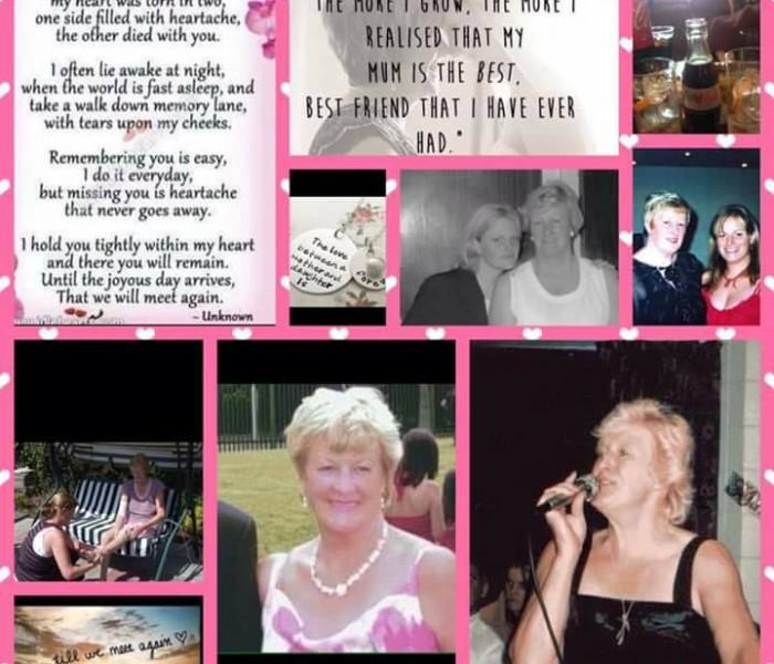 My mam Joan O Reilly